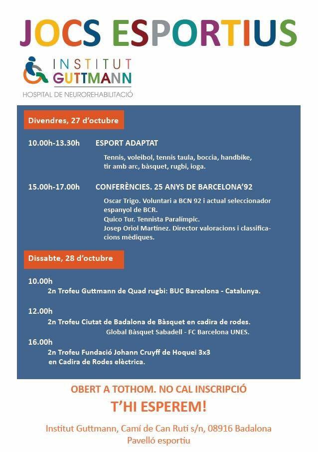 Jocs Esportius – Institut Guttmann