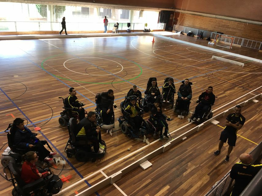Primer entrenament de la Selecció Catalana 2017-2018