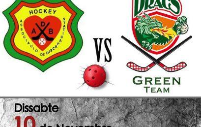 Primer partit de Lliga dels Green Team